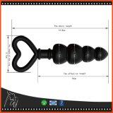 Black Dildo Anal Plug Sex Toys pour femme mignon de type doigt Couples Buttplug gode Sexshop charmant Perles de silicone