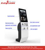 Chiosco d'ordinazione di pagamento della macchina/Bill del chiosco di pagamento di servizio dell'OEM 15.6/17/19/22/32/43self/schermo attivabile al tatto di pagamento in contanti lettore di schede
