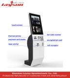OEM 15.6/17/19/22/32/43self 서비스 주문 지불 간이 건축물 기계 또는 빌 지불 간이 건축물 또는 카드 판독기 현금 지불 Touchscreen