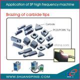 SP-15 het Verwarmen van de Inductie van de hoge Frequentie Machine 6kw 30-100kHz