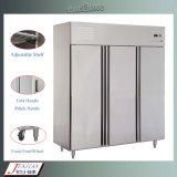 Surgelatore commerciale verticale approvato del frigorifero dell'acciaio inossidabile del Ce