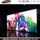 Fixação interior Pixelp2.5 LED de alta resolução de ecrã de Publicidade