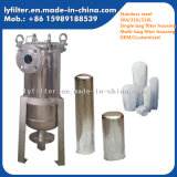 Carcaça contínua/líquida do saco de filtro da separação para a indústria química e farmacêutica