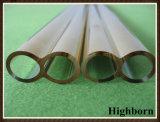 Recubierto de oro de cuarzo de tubo de calefactor de infrarrojos