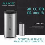Do sensor comercial acessório livre do aço inoxidável do toalete do toque AK1205 distribuidor líquido automático do sabão da mão