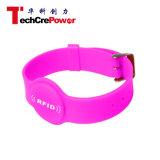 G031-K bei impermeabilizzano il Wristband del silicone della vigilanza Mf1 S70 RFID