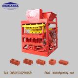 Eco Master 7000 Plus de intertravamento de máquina de fazer tijolos de argila