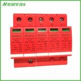 Ce Carril DIN 2P 3p 20 ka 40ka 12V 110V 220V 600V 1000V exterior Solar el dispositivo de protección Protección de la alimentación DC de bombeo SPD