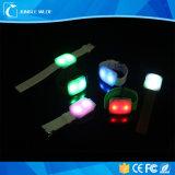 Bracelet brillant des éclairages LED Wristband/LED de Noël/bracelet fait sur commande de l'usager DEL