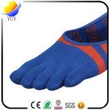 Baixas peúgas cinco peúgas ocasionais das peúgas do dedo do pé