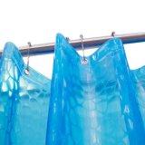 Wasserdichter EVA-Duschvorhang mit Wasser-Würfel-Entwurf des Effekt-3D