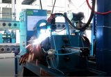 Soldadora semiautomática del collar del cilindro del LPG