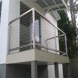 Pasamano barato al aire libre del precio del sistema de diseño moderno de la cubierta