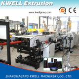 Le PEHD/PVC à double paroi du tuyau ondulé Ligne d'Extrusion/deux couches Making Machine