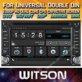 Tela de Toque do Windows Witson aluguer de DVD para o paladino Tiida Nissan Qashqai