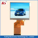 Индикация LCD монитора Stn панели LCD зеленая отрицательная
