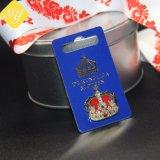 precio de fábrica de metal personalizados Hard Soft enamel emblema de metal para regalo de recuerdo