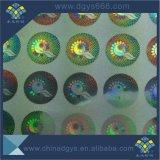 Sicherheit passte den Entwurf Anti-Fälschung Hologramm-Aufkleber an, der in China hergestellt wurde