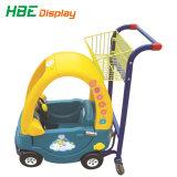 Kar van de Wandelwagen van de Baby van het Winkelcentrum van de supermarkt de Plastic Mini