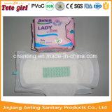 As almofadas sanitárias do melhor aníon das senhoras, almofadas sanitárias das mulheres com íon de Negetive descascam o fabricante de China