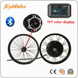 Kit elettrico eccellente di conversione della bicicletta di potere 72V 96V 5000W 5kw con Bluetooth APP