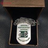 Halsband van de Ketting van de Bal van het Leer van de Kentekens van de Politie van het Leger van de Douane van de fabriek de Militaire