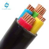 Cables de transmisión aislados XLPE Yxv-U, Yxv-R, cable de Cu/XLPE/PVC N2xy