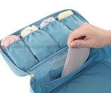 Sac portatif en nylon imperméable à l'eau de mémoire de sous-vêtements de soutien-gorge de course d'OEM