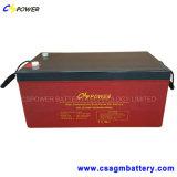 batterie de gel de mémoire du pouvoir 12V300ah pour le contrôleur solaire de chargeur