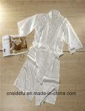 Robe longue chaude de soie de satin d'hôtel de kimono de vente en gros de vente
