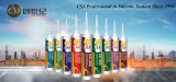 Produtos adesivos da colagem do silicone C-529 para a placa do PVC