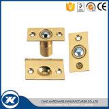 La puerta del acero inoxidable coge el retén de bola del hardware de la puerta