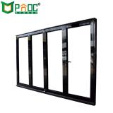 Haut de la qualité de l'aluminium coulissante de porte en verre pour le restaurant de pliage