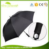 Parapluie fait sur commande de golf de pluie d'impression de promotion en gros