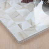 中国のフォーシャンの居間の内部の木製の床の無作法な磁器のタイル