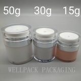 50g de AcrylKruik Zonder lucht van uitstekende kwaliteit van de Room voor Kosmetische Verpakking