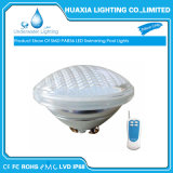 35W AC12V RGB 2선식 원격 제어 LED PAR56 수영풀 빛