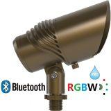 Luz del paisaje de RGBW Bluetooth LED con el ángulo de haz IP65 ajustable