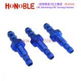 Bullone esagonale dello zinco/Hex filettato placcatura blu