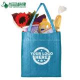 Sacos não tecidos reusáveis recicl biodegradáveis feitos sob encomenda baratos da tela dos PP