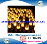 Yaye 18 het Hete van de LEIDENE Ce/RoHS 5With7With9W van de Verkoop E26/E27/B22 Licht Lamp van de Vlam met Warm Wit