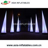 Ändernden LED-aufblasbaren Beleuchtung-Aufsatz, schönen LED-aufblasbaren Beleuchtung-Kegel färben