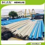 O plástico preto da água do HDPE da tubulação Pn10 Pn 16 do polietileno da tubulação do HDPE PE100 conduz a lista de preço