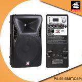 15 Zoll PROaktiver Plastiklautsprecher PS-5515bbt (DSP) USB-100W Ableiter-FM DSP