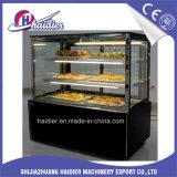 Vetrina di vendita calda del frigorifero della torta della visualizzazione