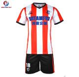 Original baratos fabricados en China Violeta Camiseta de Fútbol Deporte en Guangzhou de desgaste
