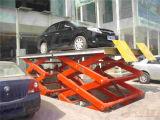Scissor тип портативные гидровлические подъемы используемого автомобиля, котор для сбывания неподвижного Scissor лифт