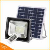 indicatore luminoso di inondazione solare del giardino di 50W 96 LED per la proiezione esterna del prato inglese della via con telecomando