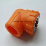 Accessorio per tubi arancione di alta qualità PPR - gomito arancione 90deg di PPR