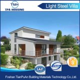 La ISO certificó la casa prefabricada calibrador de acero ligero durable